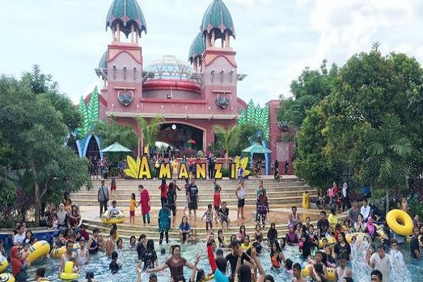 The Amanzi Waterpark Citra grand City Palembang